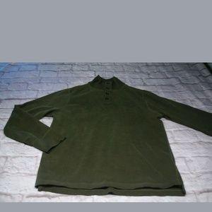 J. Crew men's long sleeve shirt green medium